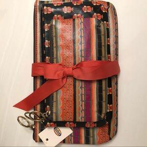 FOSSIL   Keyper TRPL pouch
